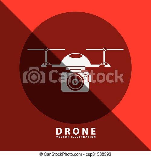 drone technology design  - csp31588393
