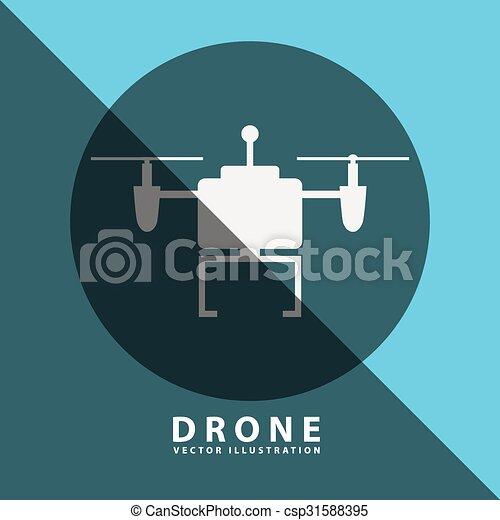 drone technology design  - csp31588395