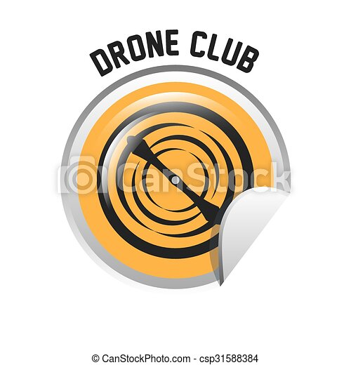 drone technology design  - csp31588384