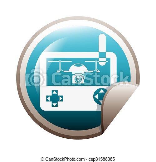 drone technology design  - csp31588385