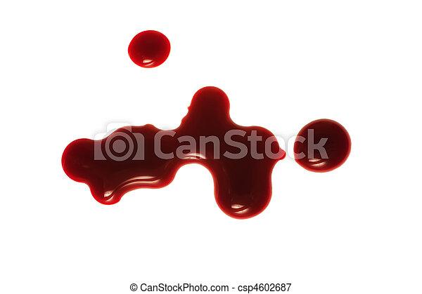 drop of blood - csp4602687