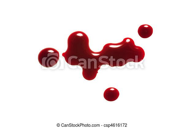 drop of blood - csp4616172