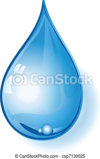 Drop of Water - csp7130025