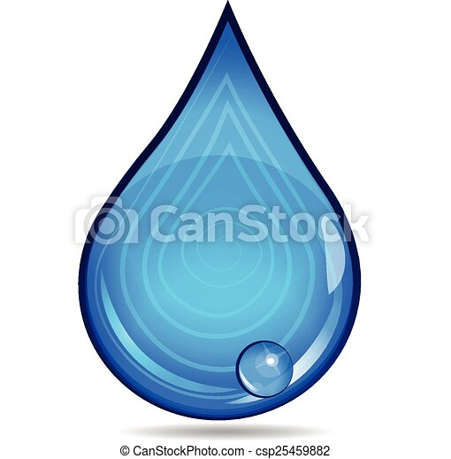 Drop of Water logo - csp25459882