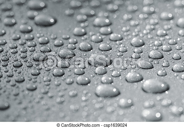Droplets on car - csp1639024