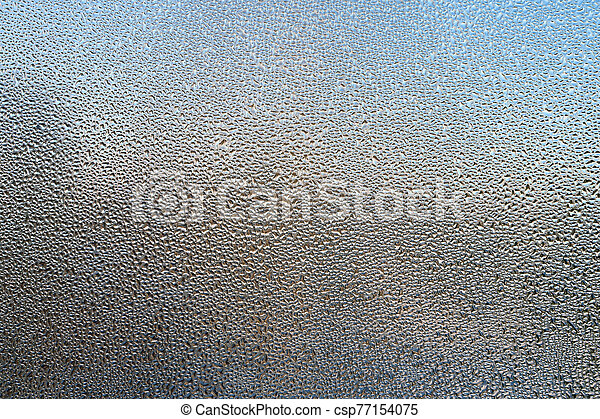 Drops on glass - csp77154075