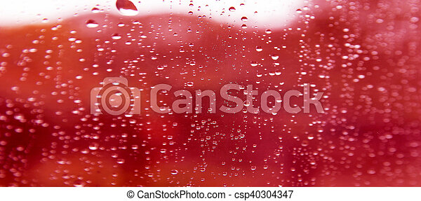 drops on glass - csp40304347