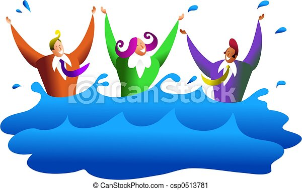 drowning business a team of business people drowning in clipart rh canstockphoto com clipart drowning woman drawing clipart