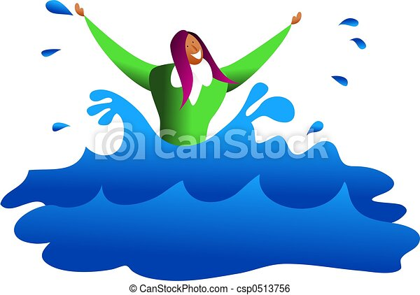 drowning business an ethnic business woman drowning in stock rh canstockphoto com drowning clipart black and white clipart drowning man