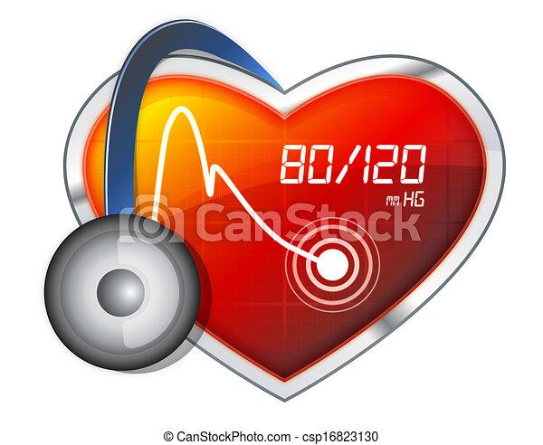 Blutdruckkontrolle - csp16823130