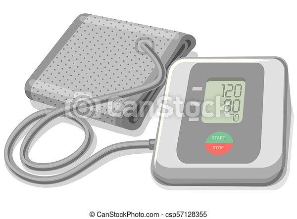 Blutdruckmonitor - csp57128355