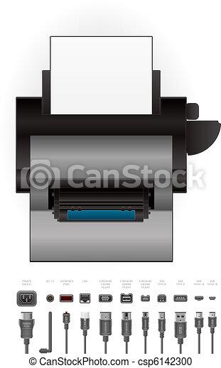Laserjet Drucker - csp6142300