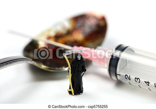 Drug addiction concept - csp5755255