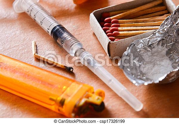 Drug Addiction - csp17326199