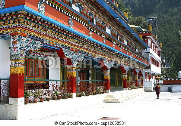 The Druk Sangag Choeling Monastery In Darjeeling India