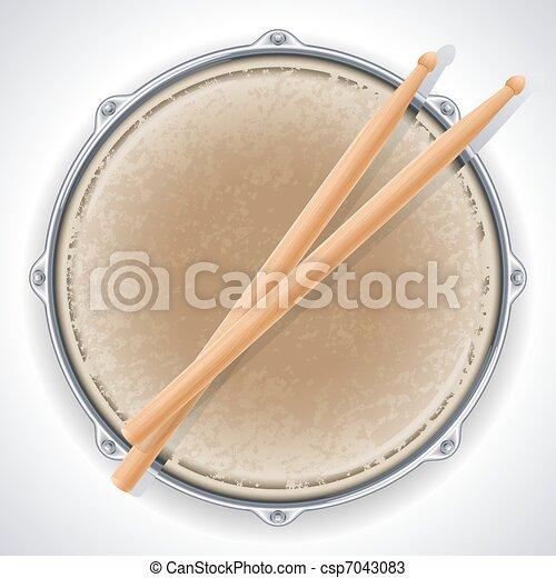 Drum - csp7043083