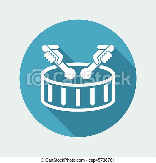 Drum icon - csp45738761