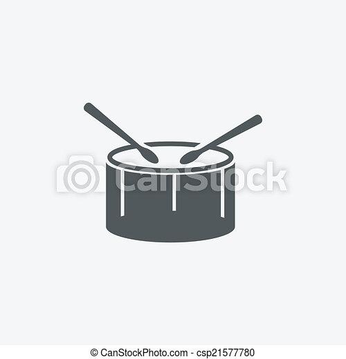 drum icon - csp21577780