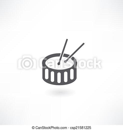 drum icon - csp21581225
