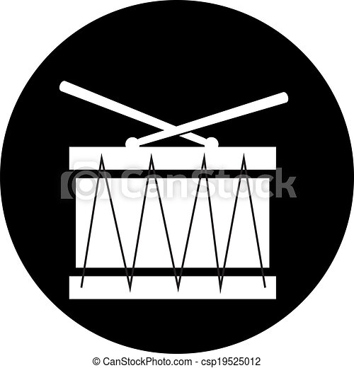 Drum icon - csp19525012