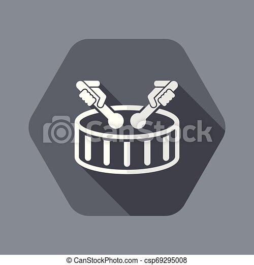 Drum icon - csp69295008