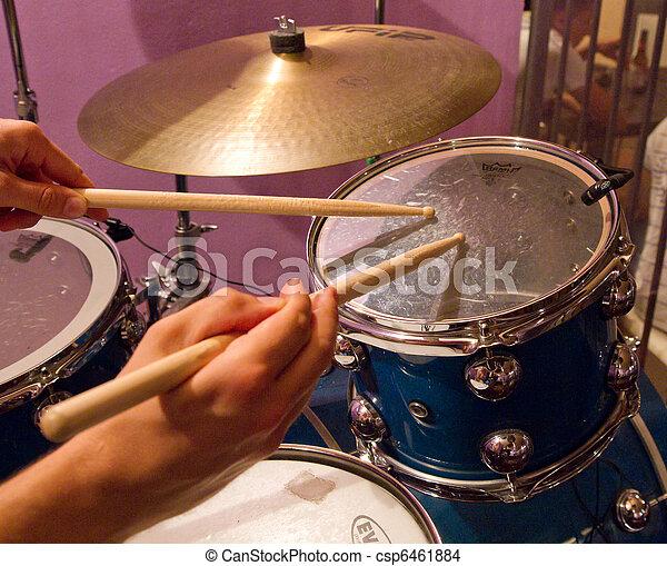 drum kit - csp6461884