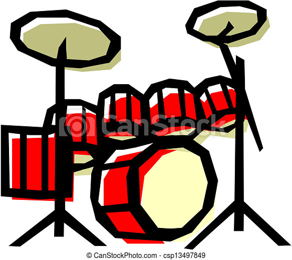 drum set eps vector search clip art illustration drawings and rh canstockphoto com drum kit clip art free drum kit clipart