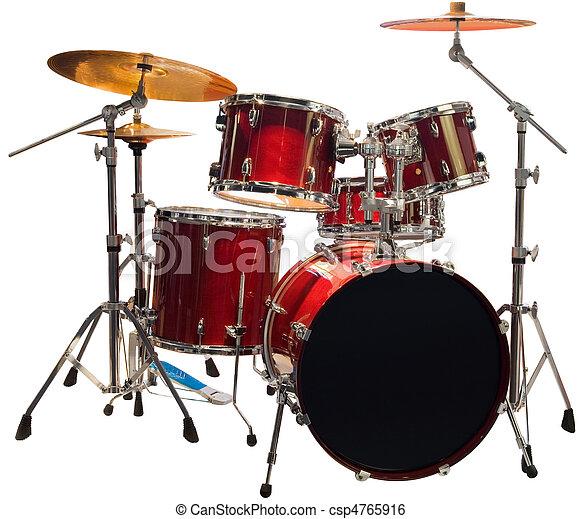 Drums cutout - csp4765916
