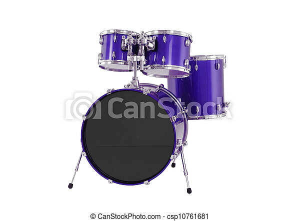 drums isolated - csp10761681