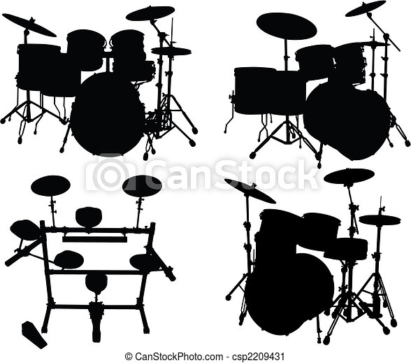 drums kits - csp2209431