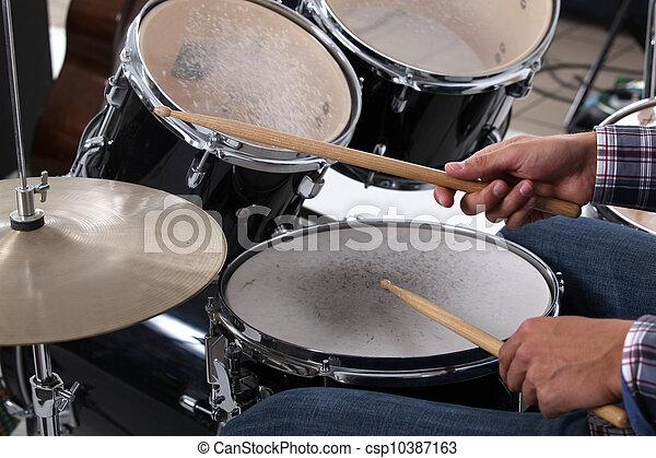 Drums - csp10387163