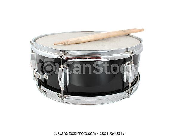 Drumsticks and Snare drum - csp10540817