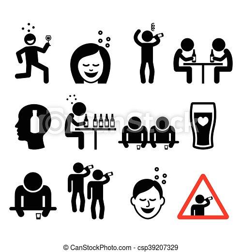 Contemporary Illustration Of Women Drinking Wine