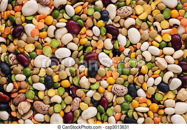 Dry beans and peas - csp3013631
