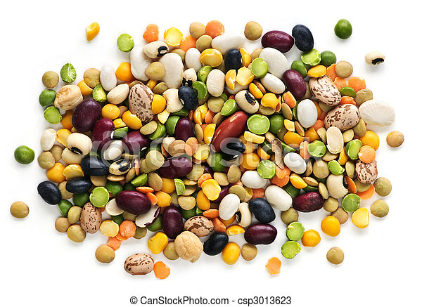 Dry beans and peas - csp3013623