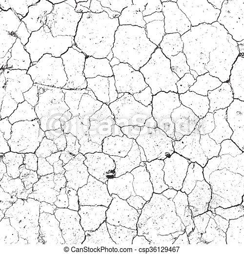 Dry Cracked Texture - csp36129467