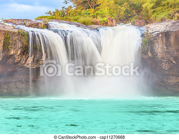 Dry Sap waterfall - csp11270668