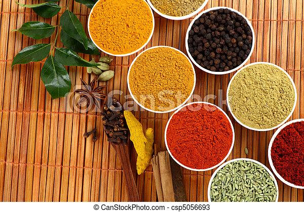 dry spicy powders  - csp5056693