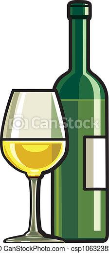 Dry White Wine - csp10632383