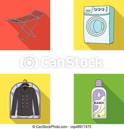 Dryer Washing Machine Clean Clothes Bleach Dry Cleaning