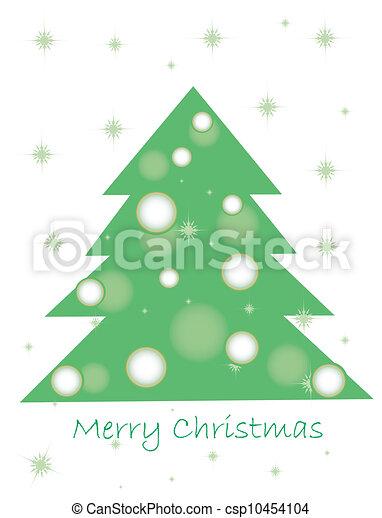 drzewo, boże narodzenie - csp10454104