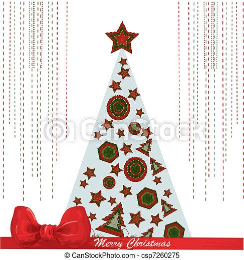 drzewo, boże narodzenie - csp7260275