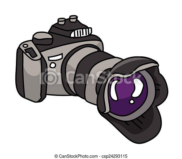 dslr camera  - csp24293115