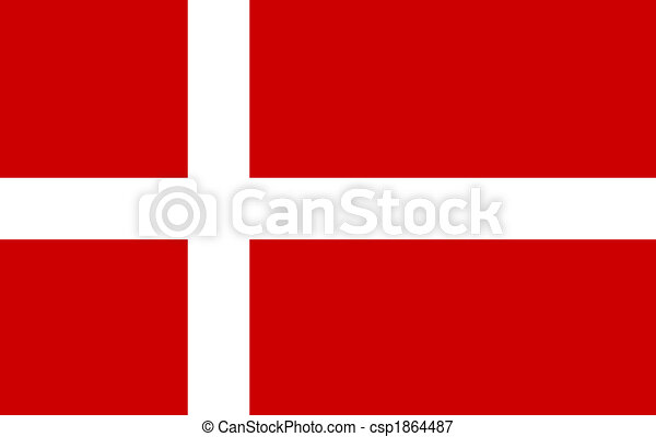 duńska bandera - csp1864487