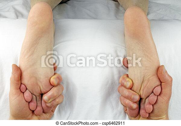 Dual Foot Rub - csp6462911