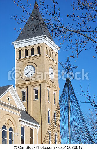 Dualing points in Benton, Arkansas - csp15628817