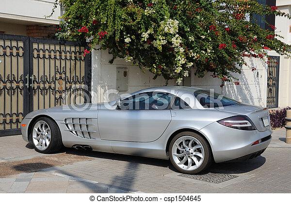 dubai, benz, automobile, mclaren, slr, sport, lusso, mercedes - csp1504645
