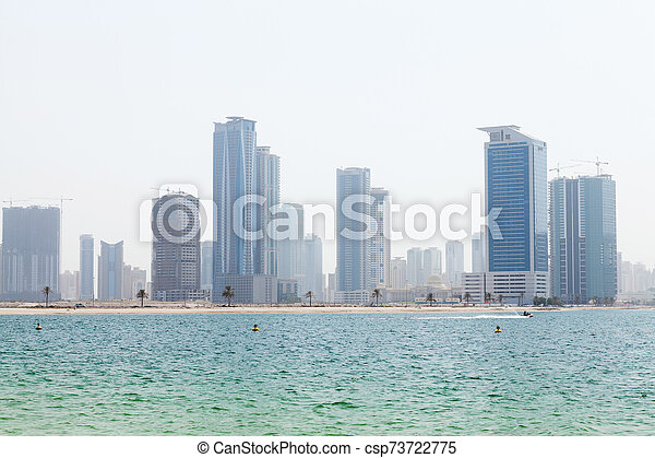 Dubai skyline - csp73722775