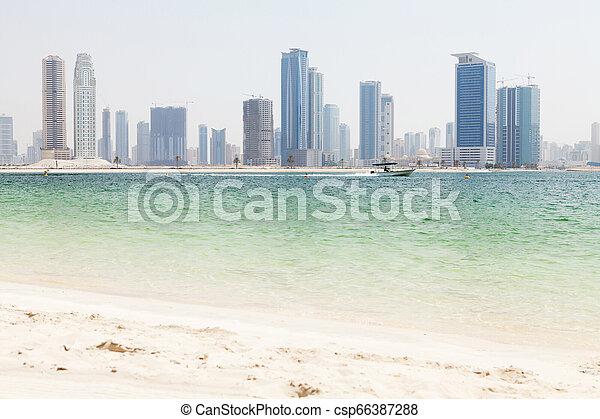 Dubai skyline - csp66387288