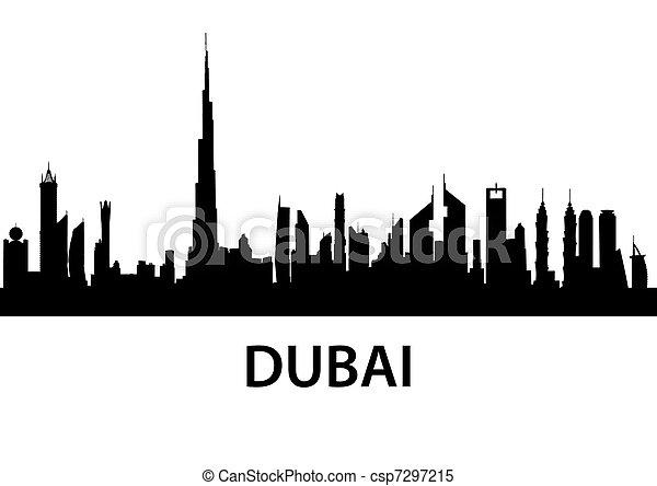 Dubai Skyline - csp7297215